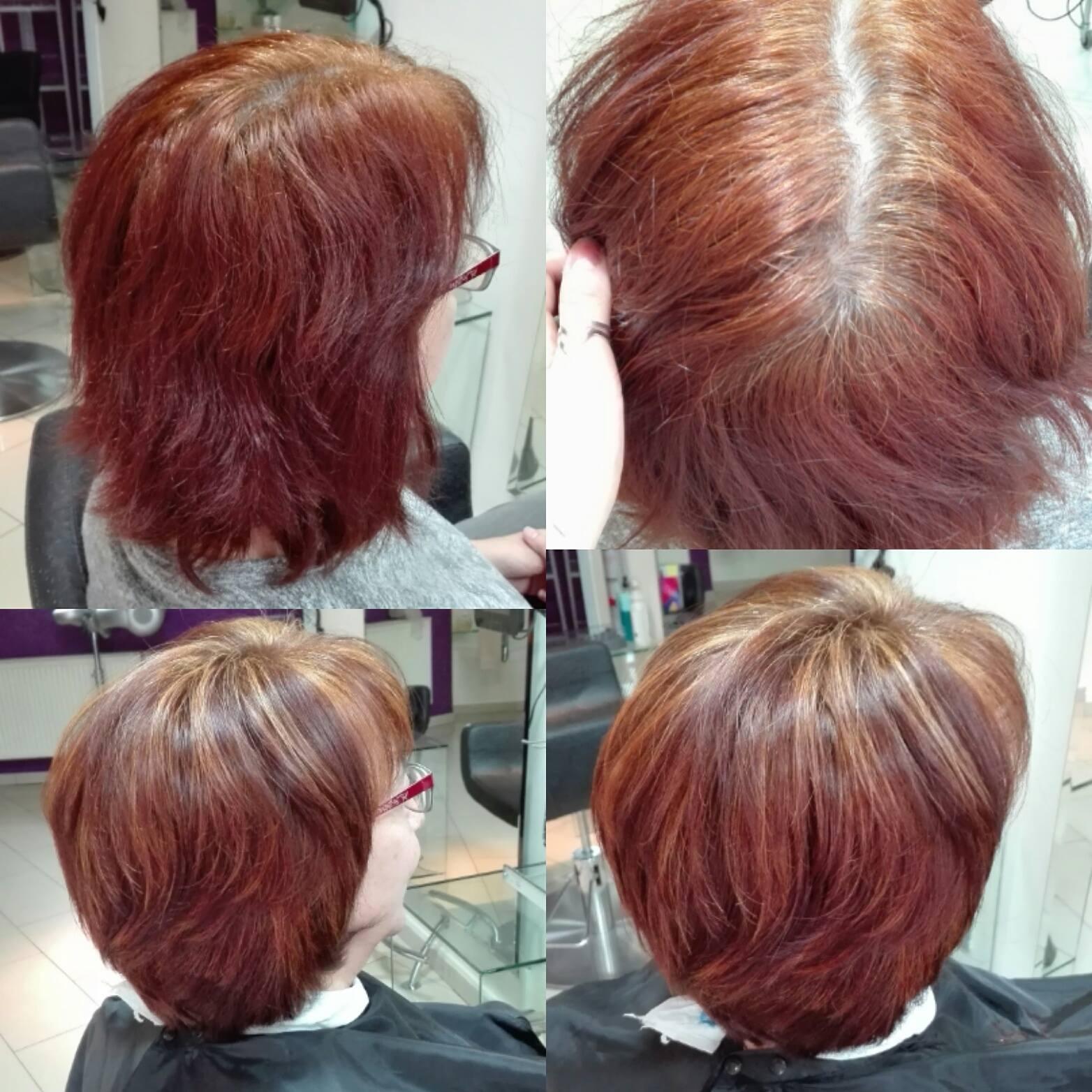 100% pokrycia siwych włosów