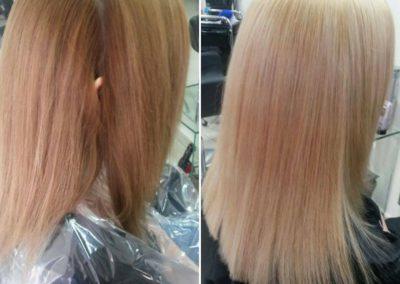 Koloryzacja blond