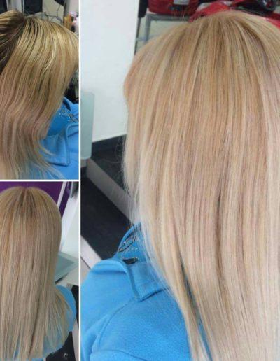 Farbowanie blond