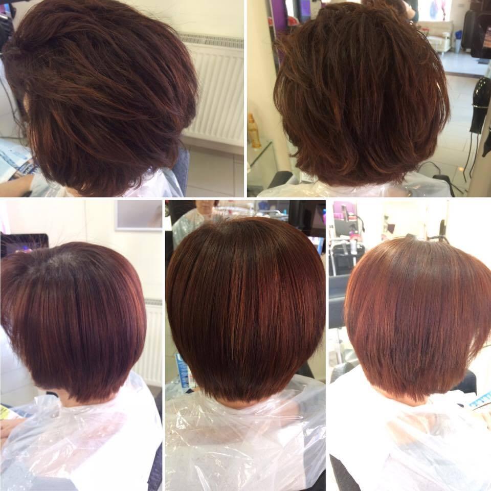 Niesamowite Keratynowe prostowanie włosów - salon fryzjerski Biarritz - w Giwicach XB67